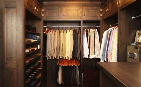 mens walk  closet design traditional closet bakes