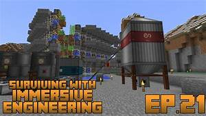 Surviving with immersive engineering ep steel