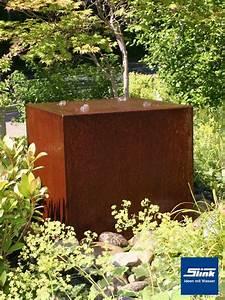 Gartenbrunnen Aus Cortenstahl : gartenbrunnen springbrunnen cortenstahl quader quattro 60 ~ Sanjose-hotels-ca.com Haus und Dekorationen