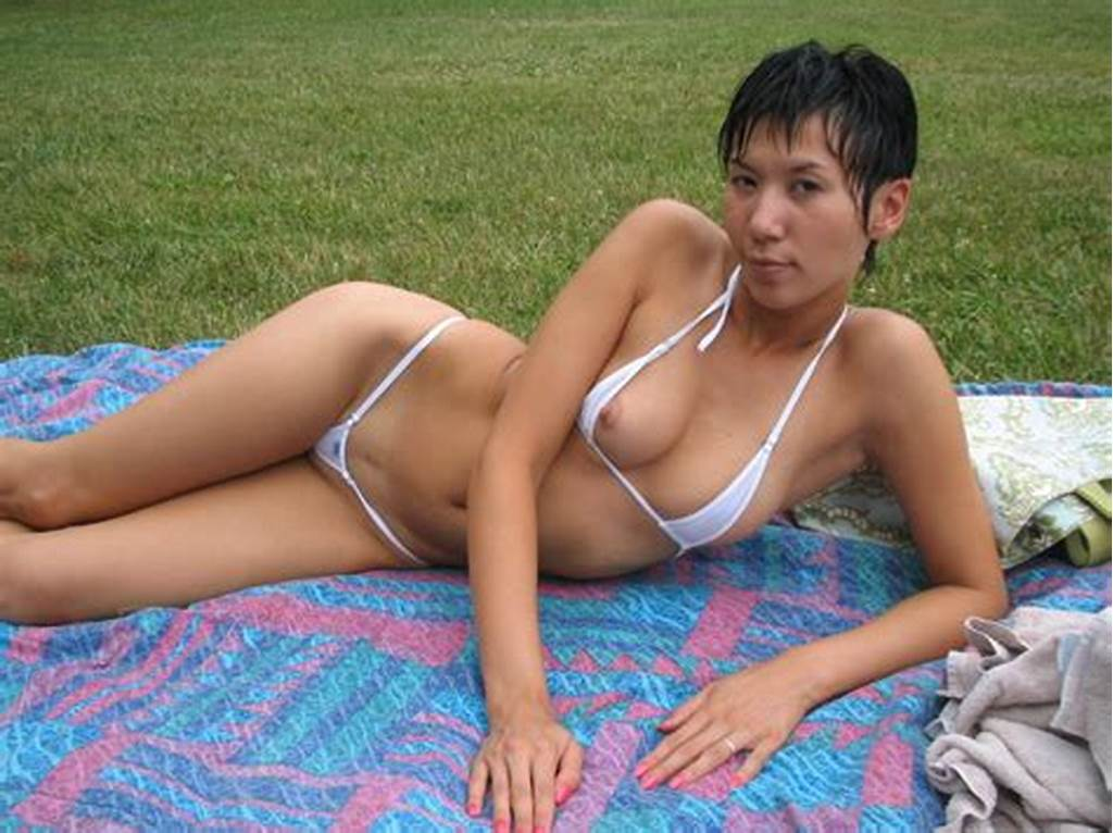 #Bikini #Wearing #Asian #Teen #Chick #Exposing #Her #Many #Naughty