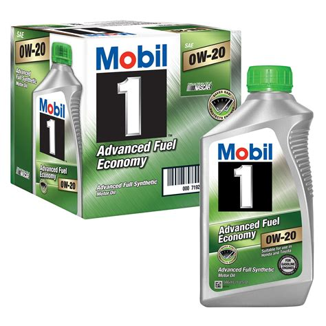 Mobil 1 98kf98 Advanced Fuel Economy 0w 20 Synthetic Motor
