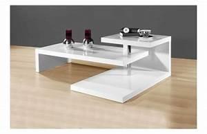 Table Basse Blanche Design : table basse design des invitations et fantaisies ~ Teatrodelosmanantiales.com Idées de Décoration