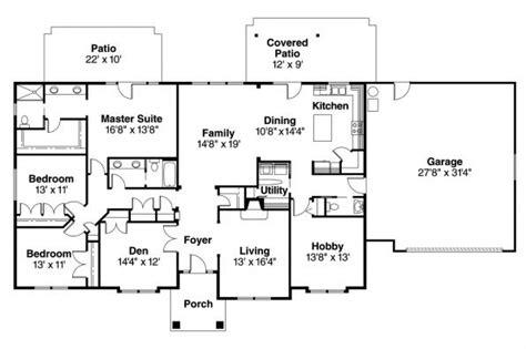 ranch house plans brennon    designs
