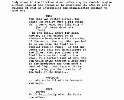 Scripts Dialogue Script Scene Story Action Need