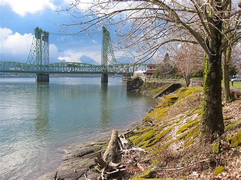 Columbia River, Vancouver WA | View down the Columbia ...