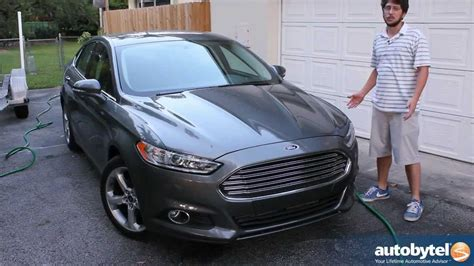 Ford Fusion Ecoboost Review by 2013 Ford Fusion Se Ecoboost Test Drive Car Review