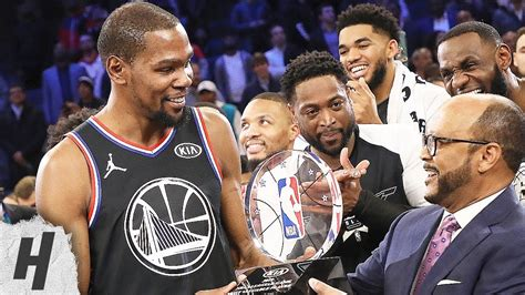 Kevin Durant MVP Trophy Presentation | February 17, 2019 ...