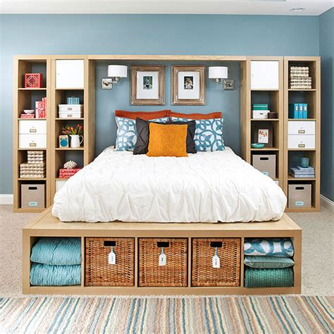 cheap bedroom storage units 35 diy ikea kallax shelves hacks you could try shelterness