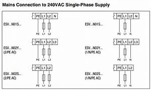 How To Wire 240 Volt Single Phase Power To An Smvector Vfd