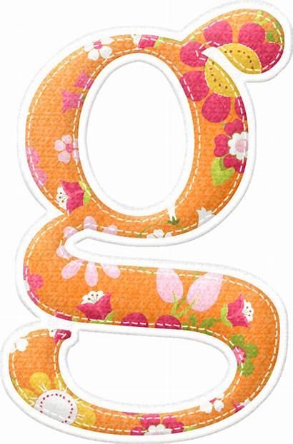 Alphabet Alfabeto Flores Naranja Birdie Lane Bellas