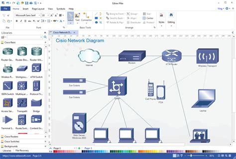 Er Diagram Maker Free by Free Network Diagram Maker