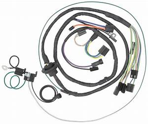 Wiring Harness  Air Conditioning  1972 Chevelle  El Camino