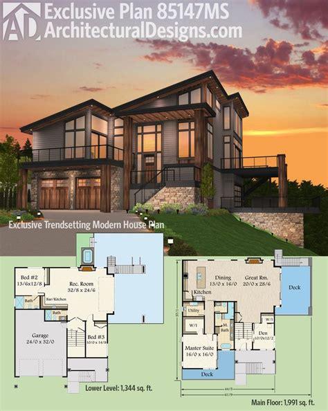 contemporary house plans best 25 modern house plans ideas on modern