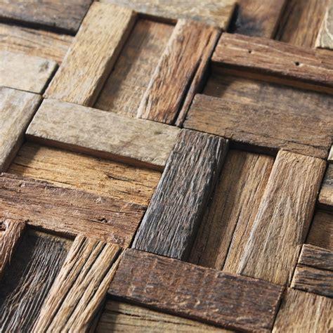 wooden finish wall tiles ancient ship wood mosaic floor tiles wall tiles rustic wood texture wall decorative tile