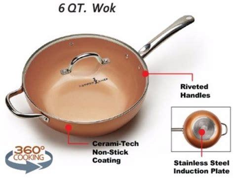 copper chef wok reviews  good   true