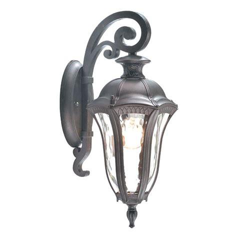 philips midnight 1 light vista silver outdoor wall lantern