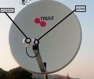 Orientation Antenne Tv : r glage parabole sur hotbird et astra ~ Melissatoandfro.com Idées de Décoration