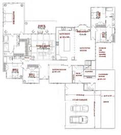 5 bedroom house plans 1 story