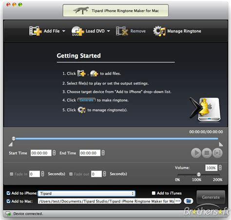 ringtone maker for iphone iphone ringtone maker for mac free
