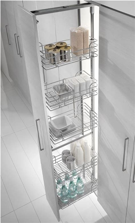 french mm pull  pantry  inoxa chrome wire