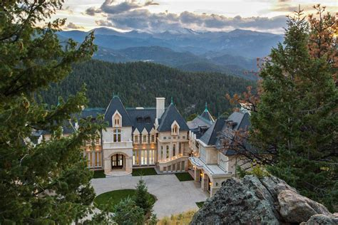 grand chateau residence in the colorado rocky mountains