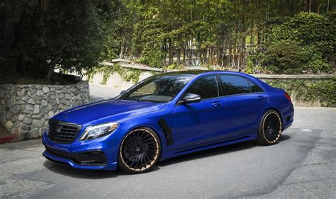 Why So Blue? Mercedes-benz S-class Got Rdbla And Wald