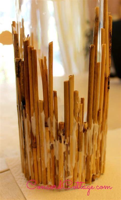Hometalk   DIY Bamboo Coastal Candleholders