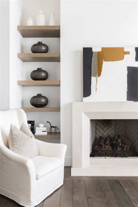 farmhouse fireplace the prettiest modern farmhouse in the entire world for Modern