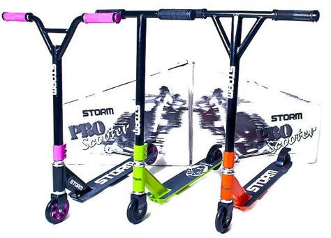Fixed Bar Storm Stunt Push Pro Scooter 360 Degree Street