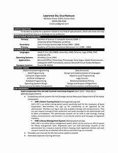 Computer science resume templates http www for Computer science resume template