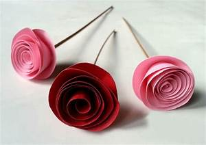 Fabulous & Easy Rolled Paper Roses