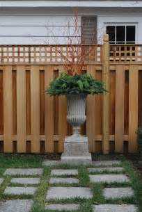 Decorative Privacy Lattice Fence Ideas