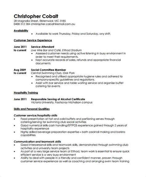 Resume Work by Casual Work Resume Template Resume References Template