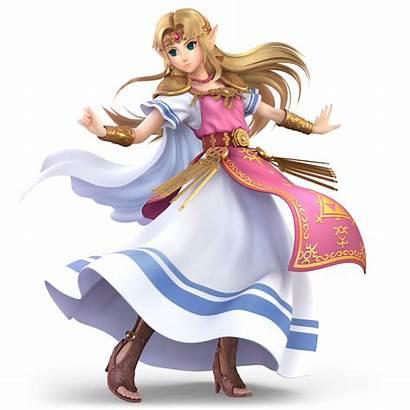 Zelda Smash Bros Princess Ultimate Super Artwork