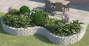 beet ganz einfach anlegen gestalten obi gartenplaner With balkon teppich mit tapete mit gräsern