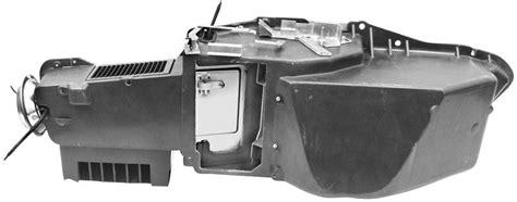 heater box assembly wac   chevelleel camino