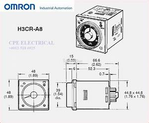 Wiring Diagram Timer Omron H3cr