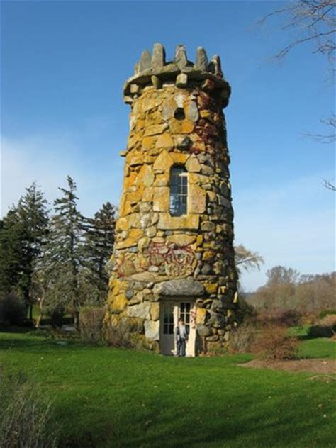 An Interesting Tower On The Property Nestled In An Area Of