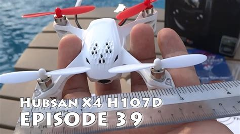 Hubsan X4 H107d Review & Unboxing The Smallest Fpv Ready
