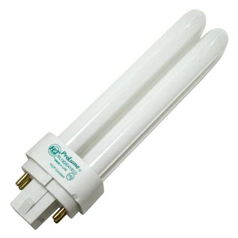 prolume eco shield fluorescent ls halco 109039 pl13d e 41 eco double tube 4 pin base