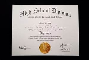 buy a fake high school diploma online With free fake high school diploma templates