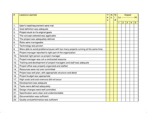 word checklist template bookletemplateorg