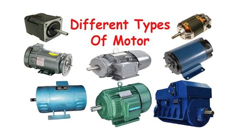 Different Types Of Electric Motor, Classification Of