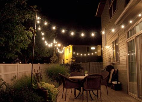 party amazing   outdoor lights  patio