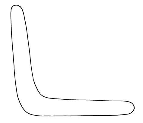boomerang template boomerang templates early play templates