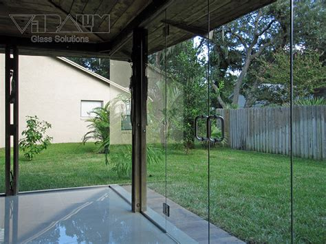 glass partitions contemporary patio orlando by