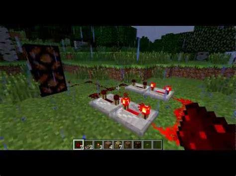 Updated Redstone Repeating Circuit Tutorial Minecraft