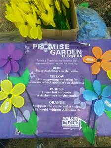 Alzheimer Promise Garden Flower