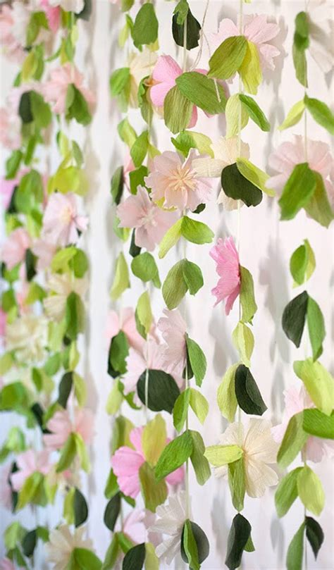 flower garland wedding backdrop lia griffith