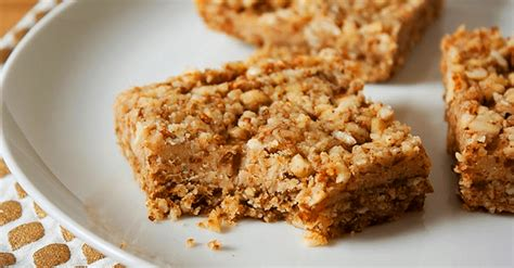 vegan dessert date squares vegan recipes